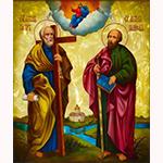 Праздник Славных и всехвальных первоверховных апостолов Петра и Павла