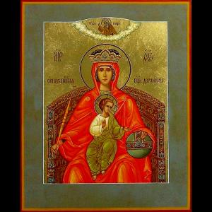 Заказать молебен перед иконой Божьей Матери Державная